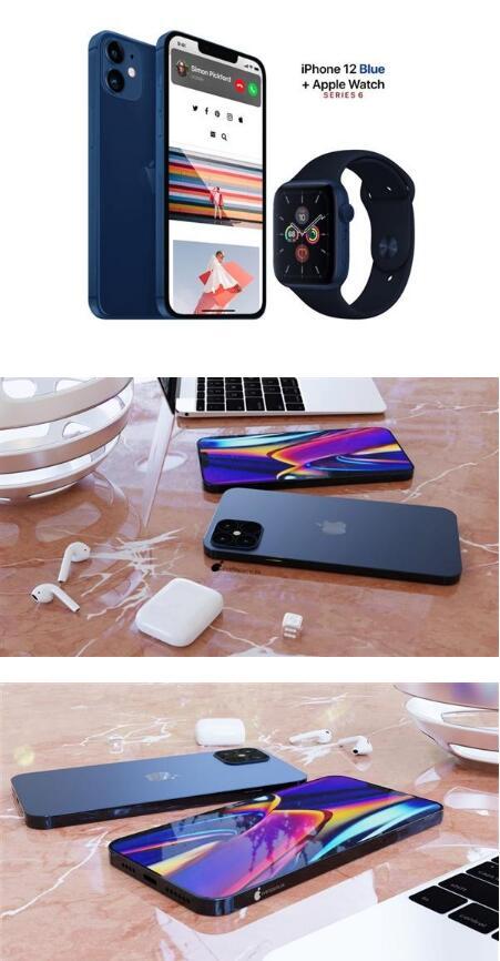 "iPhone 12会有哪些配色?""海军蓝""如何?"