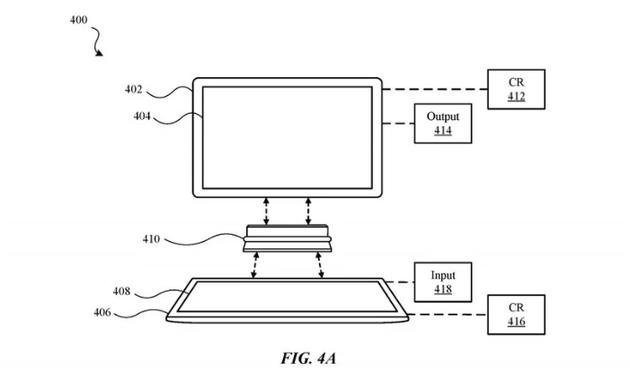 苹果新专利:两台 iPad 连接组成双屏笔记本