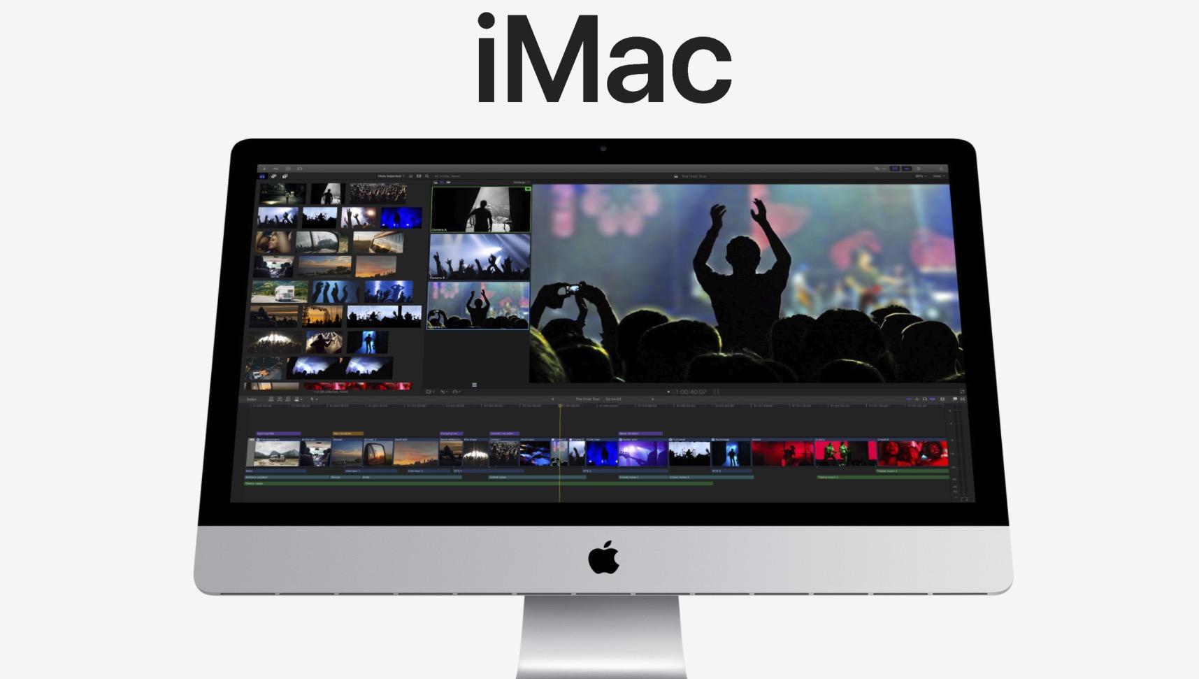 新款 27 英寸 iMac 发布: 搭载 1080P 摄像头,升级第十代酷睿处理器