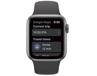 时隔三年后,谷歌地图重新登陆苹果 Apple Watch