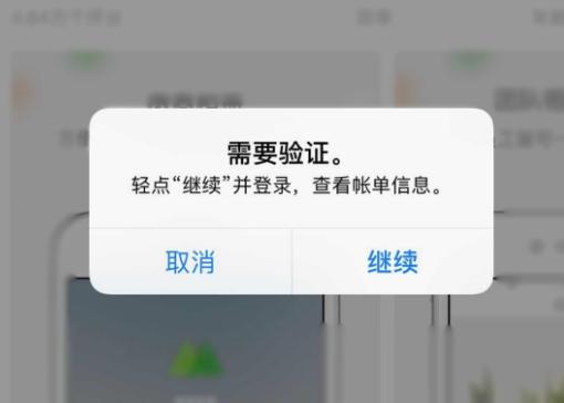 """App Store 提示""""需要验证""""无法下载应用怎么办?"""
