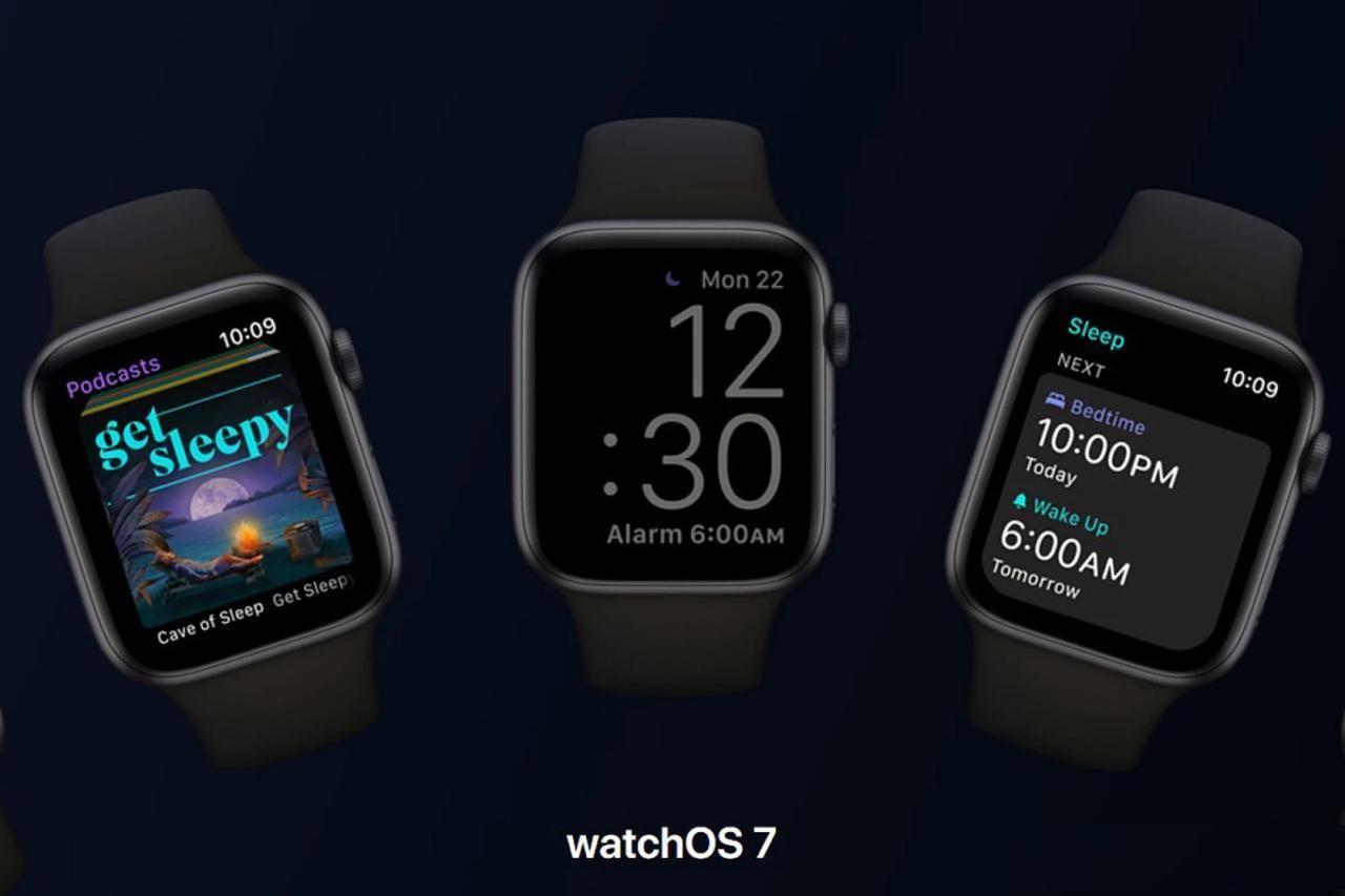 watchOS 7 开发者测试版 Beta 5 发布,功能持续优化