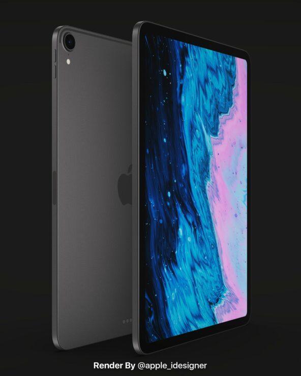 苹果 iPad Air 4 概念图曝光:iPad Pro 设计风格,改用 USB-C 接口