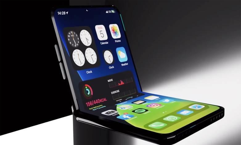 爆料称苹果可折叠 iPhone 原型机有双屏幕,类似 Surface Duo