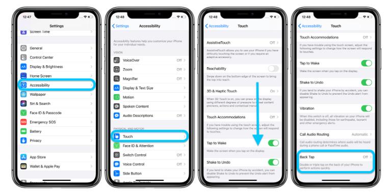 iOS 14 轻点背面是什么新功能?如何使用轻点背面?