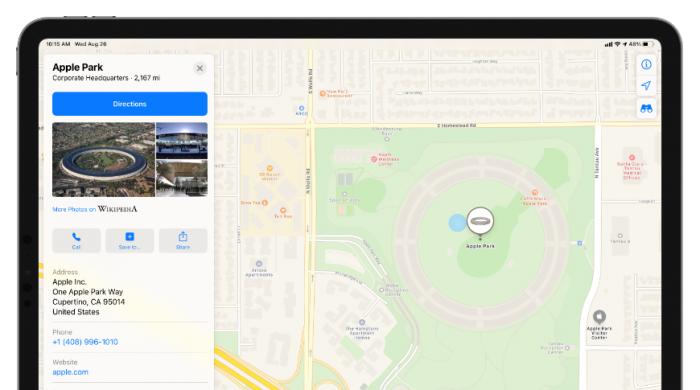 最新 iOS 14 测试版中的苹果地图可让用户留下评论和照片