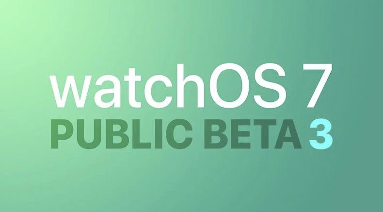 苹果发布 watchOS 7 第三个公测版