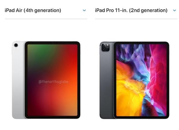 苹果 iPad Air 4 最新渲染外形曝光:与 iPad Pro 外形差异小