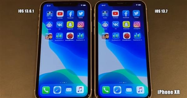 iPhone 老机型更新 iOS 13.7 正式版后表现如何?