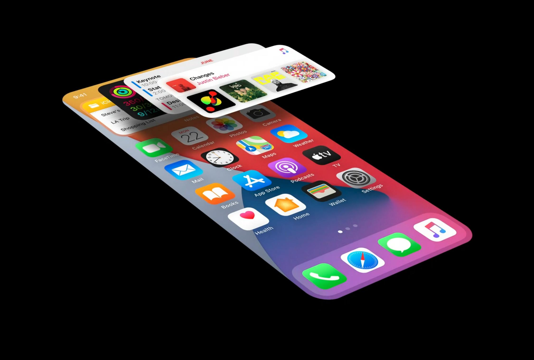 iOS 14 小组件使用技巧
