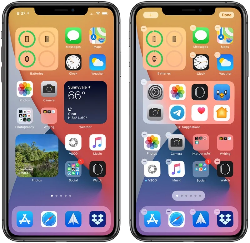 苹果发布了iOS 14和iPadOS 14的官方版本