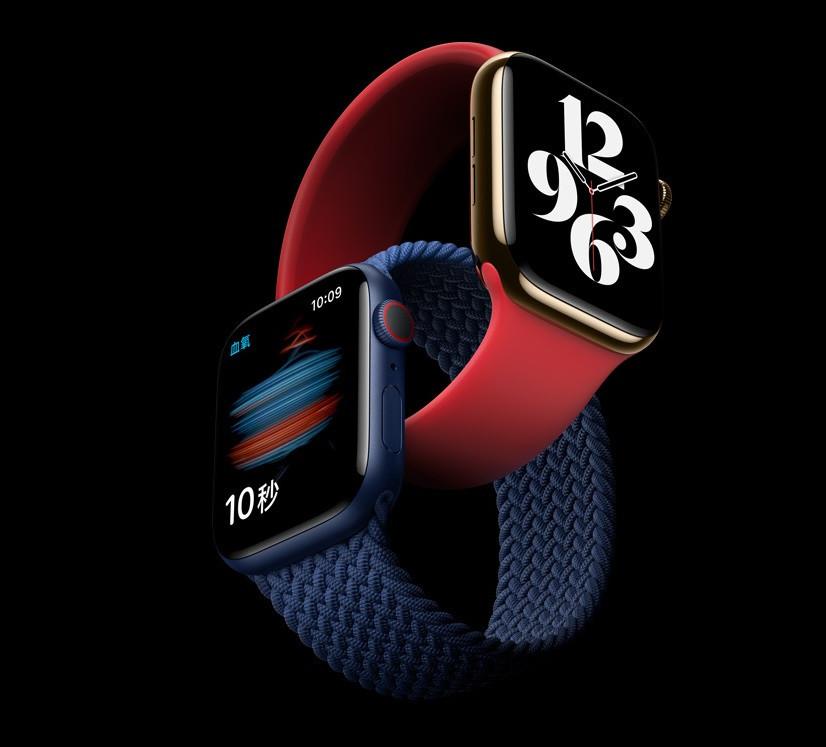 苹果 Apple Watch Series 6 国行也有血氧监测功能