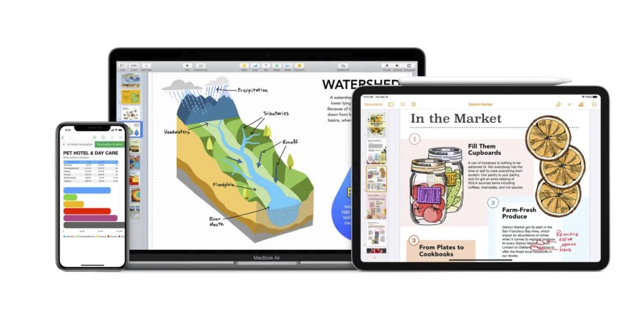 iWork 套件更新!支持「随手写」,图像挑选器重新设计