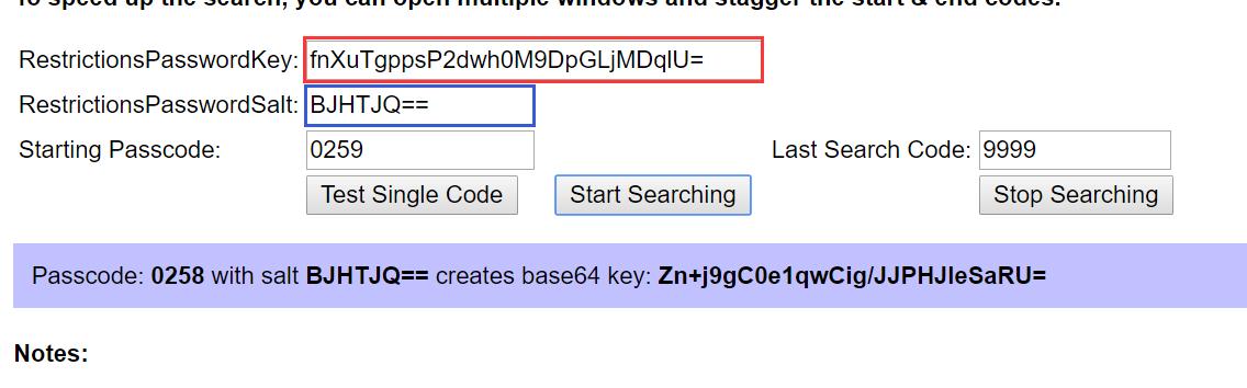 iPhone访问限制密码破解教程