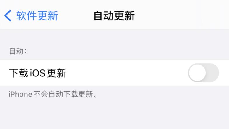 iOS 14 小技巧:可设置避免 iPhone 自动升级系统
