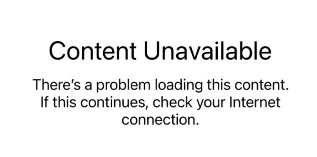 App Store、Apple Music、iCloud 等多项服务遭遇宕机,无法访问