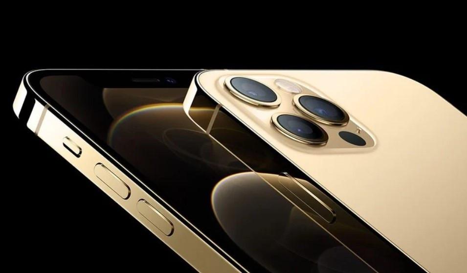 金色版iPhone 12 Pro采用特殊镀膜工艺,不锈钢边框更耐指纹