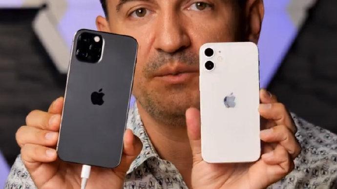 小屏旗舰:首个苹果 iPhone 12 Mini 上手视频流出