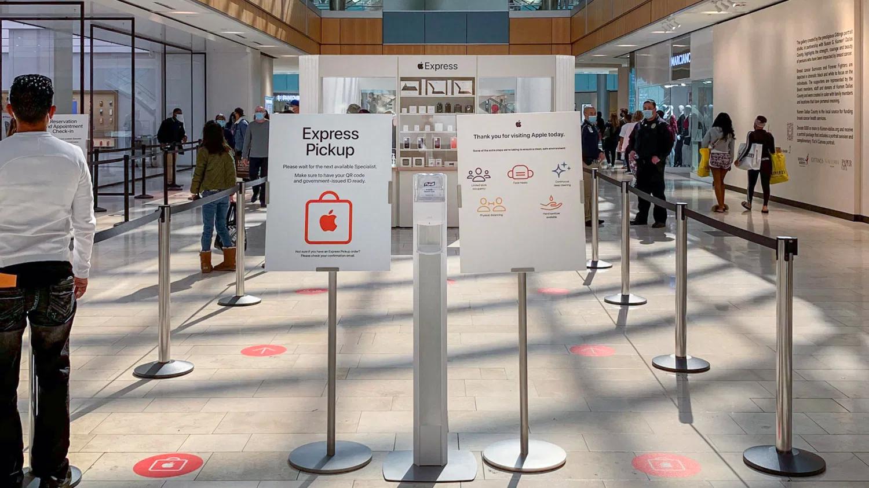 英格兰 Apple Store 将在封锁期间提供快捷门店取货服务