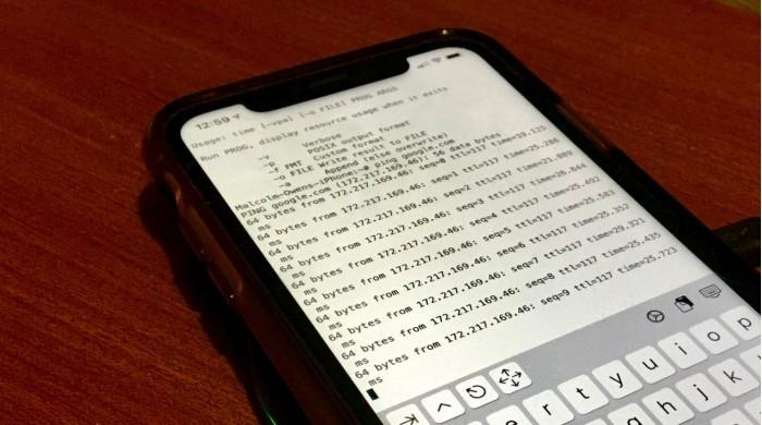 苹果重新让 Unix shell iOS 应用进入应用商店