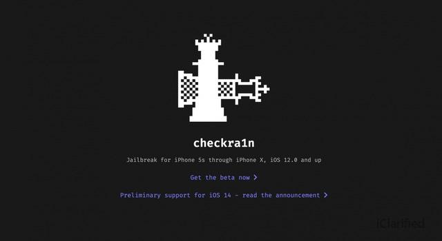 Checkra1n 越狱工具 0.12.0 Beta 更新,支持 iOS 14.1~14.2