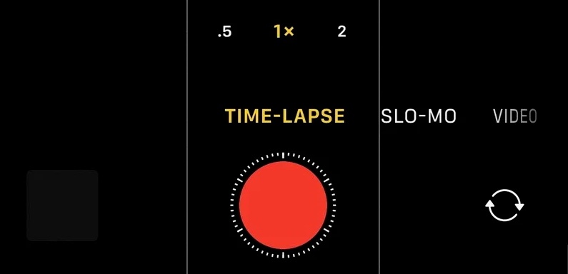 Tips: Shoot Night Mode time-lapse videos on iPhone 12