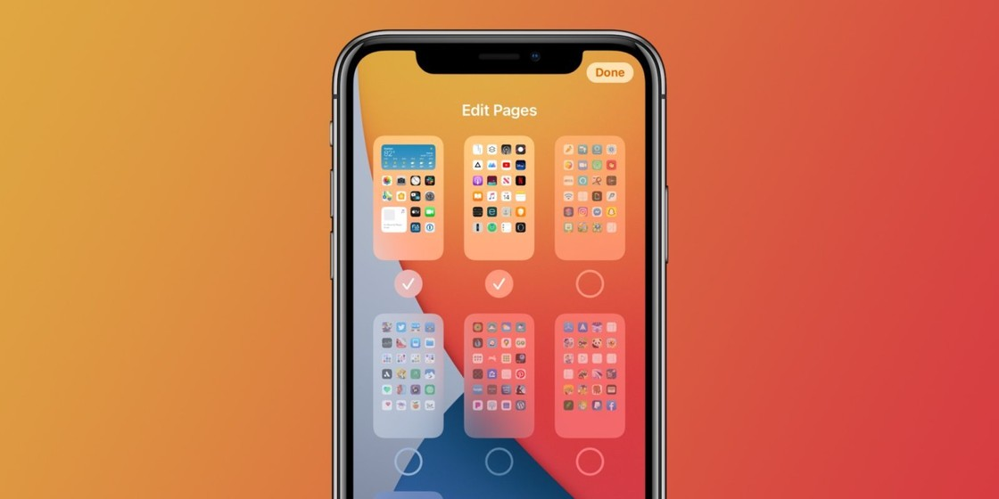 "What are the advantages of the ""App Repository"" over folders added to iOS 14?"