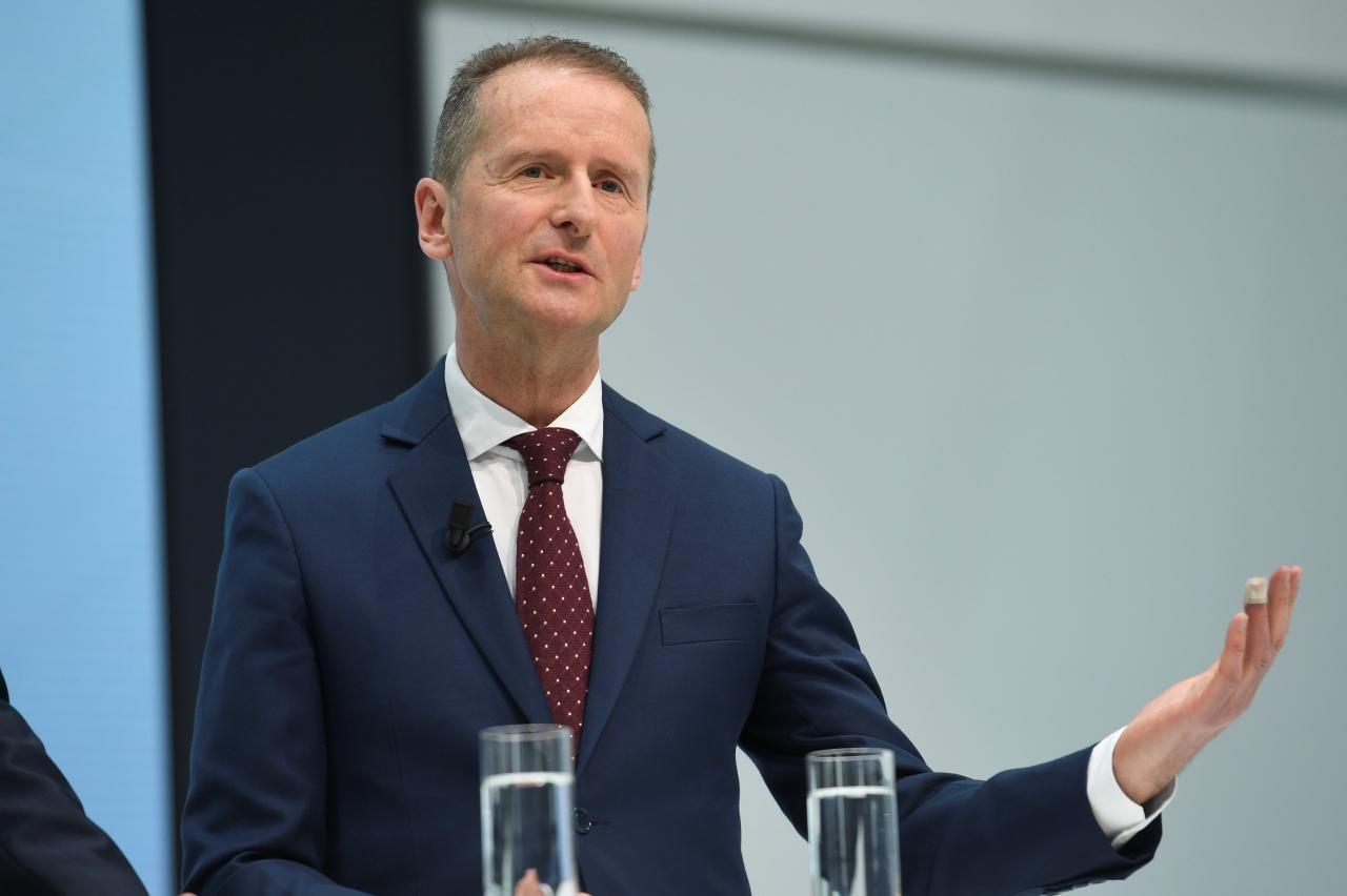 大众汽车集团CEO对苹果造车发表意见