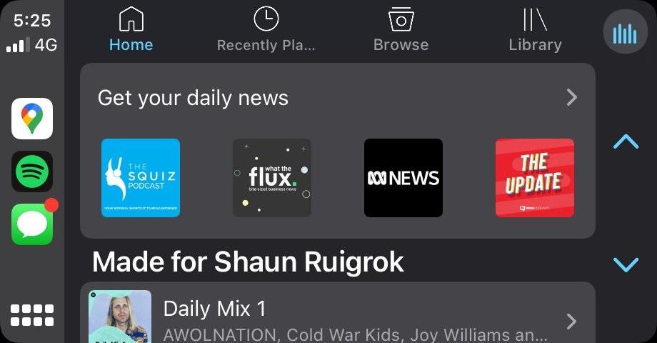 Spotify 测试重新设计版苹果 CarPlay 应用:支持队列访问