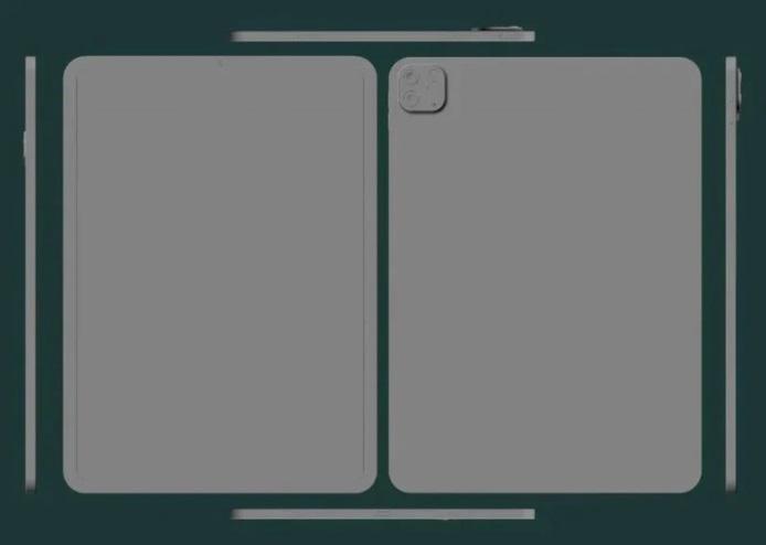 苹果新款 iPad Pro 11 英寸 CAD 设计图片曝光