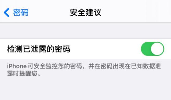 iOS 14 小技巧:检查账户密码是否安全