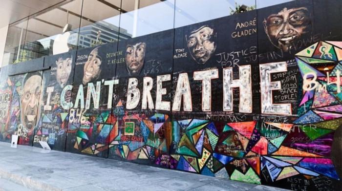 苹果宣布将把黑人的命也是命壁画捐赠给非营利组织妥善保管