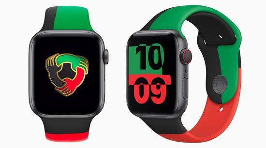 苹果推出限量版 Apple Watch 以及运动表带