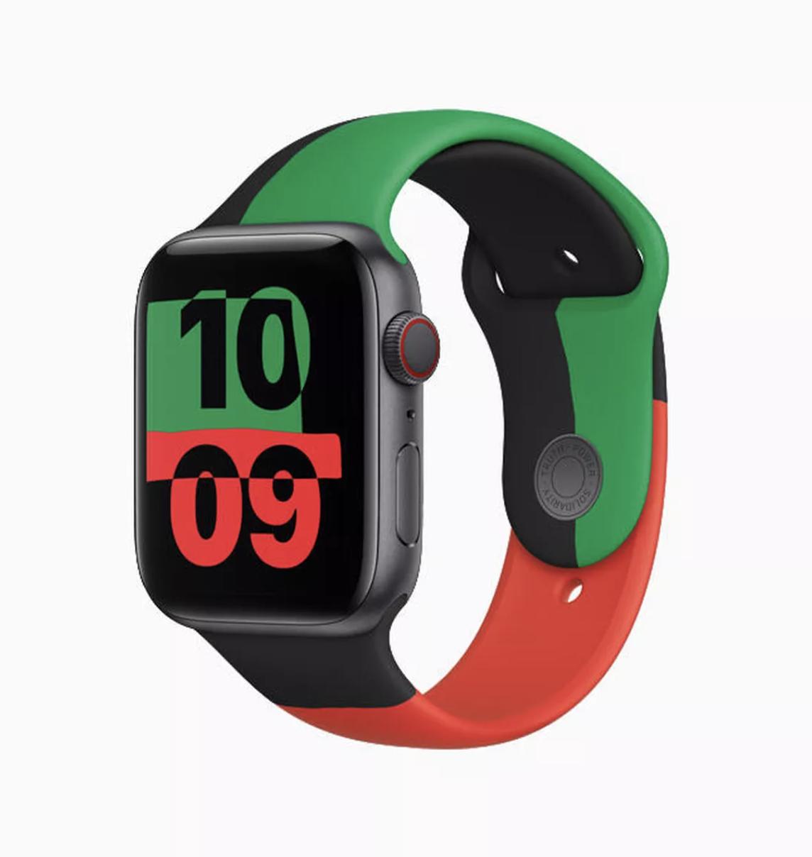 苹果推出限量版Apple Watch和运动表带