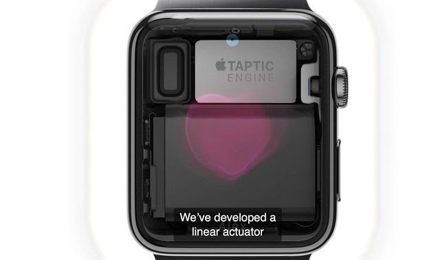 Apple Watch的新专利曝光:可以通过电池振动提供触觉反馈