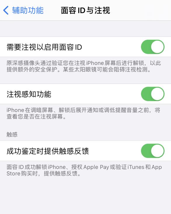 苹果实用技巧:面容 ID 使用技巧为 iPhone 12 开启解锁触感反馈