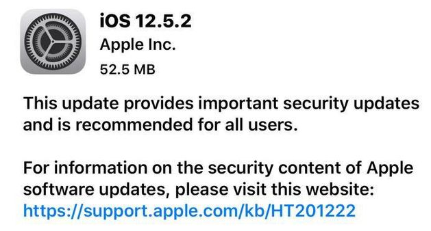 iOS 12.5.2 正式版_iOS 12.5.2正式版一键刷机教程