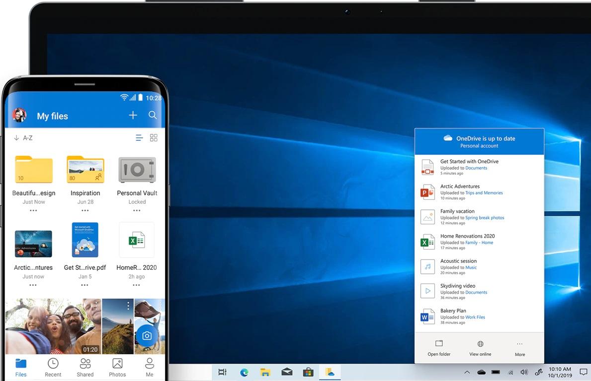 微软 OneDrive iOS 与 Android 版更新:已可从 iOS 文件 App 中同步