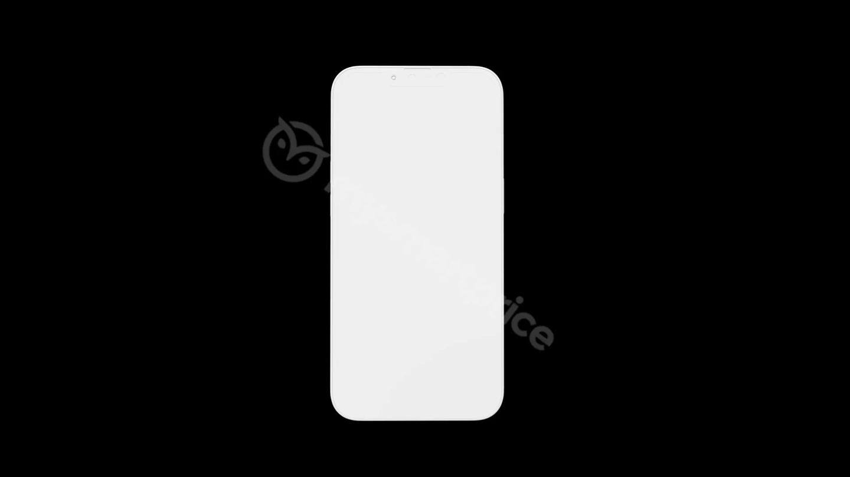 iPhone 13 渲染图出炉:除刘海缩小外变化不大