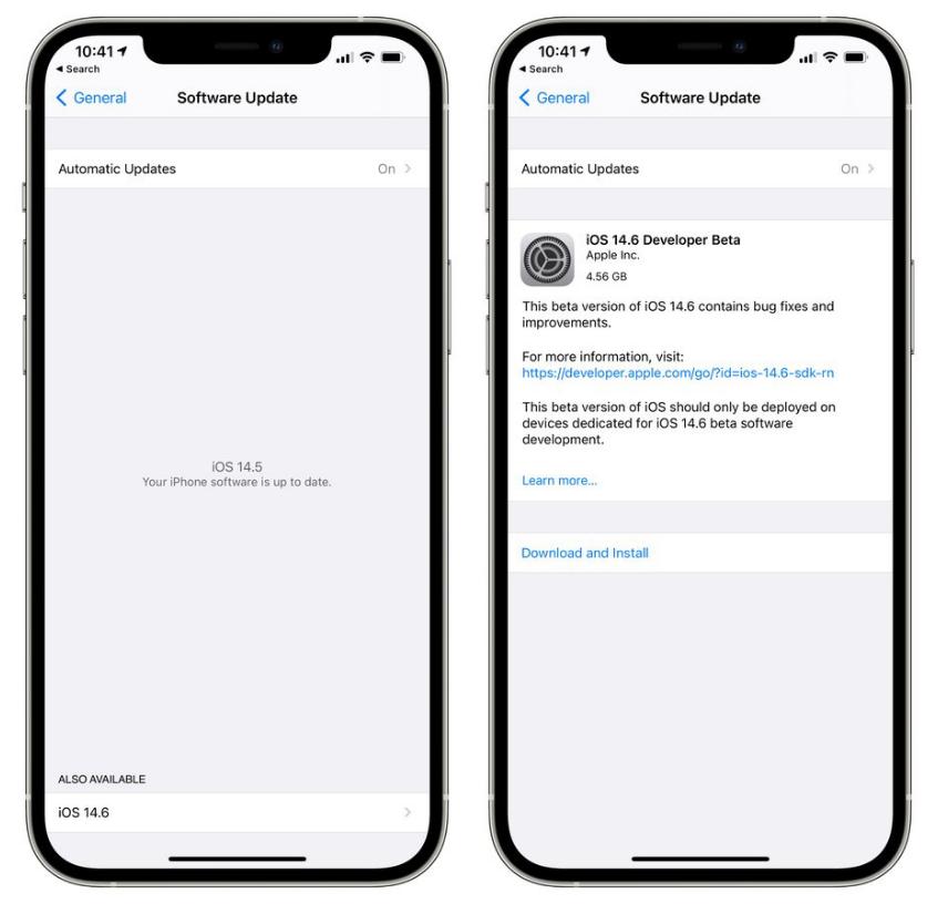 iOS 14.6 测试版_iOS 14.6 测试版一键刷机教程