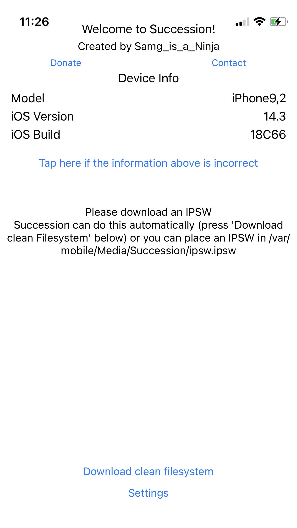 iOS 14~14.3 越狱设备如何平刷恢复至未越狱状态?