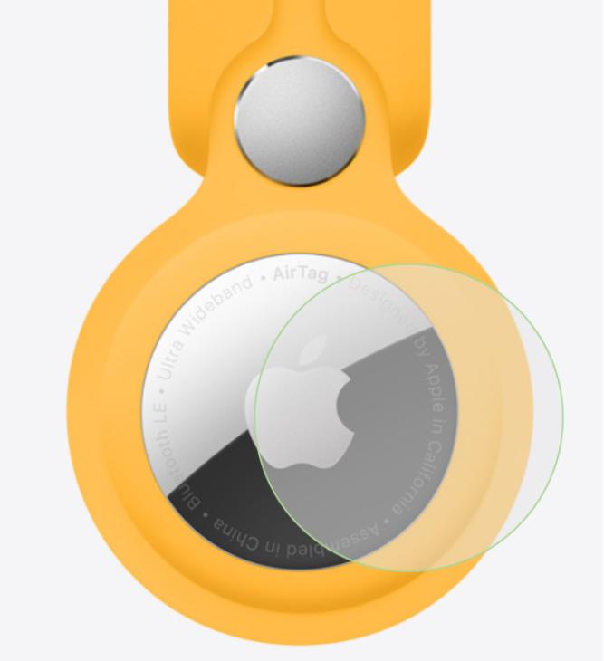 苹果 AirTag 保护膜上架电商,2 片 18.8 元起
