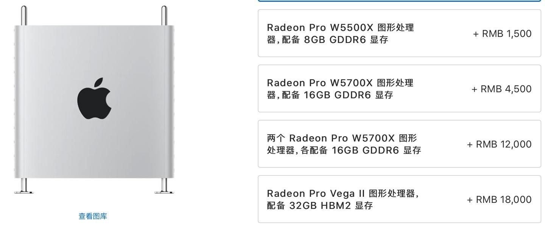 疑似 AMD Radeon Pro W6900X 显卡曝光,Mac Pro 将可选配