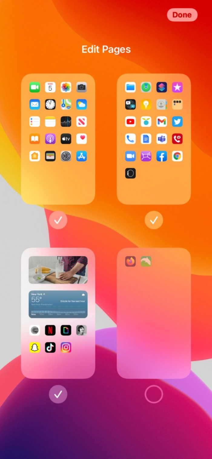 iOS 14 让主界面更整洁的 4 个小技巧