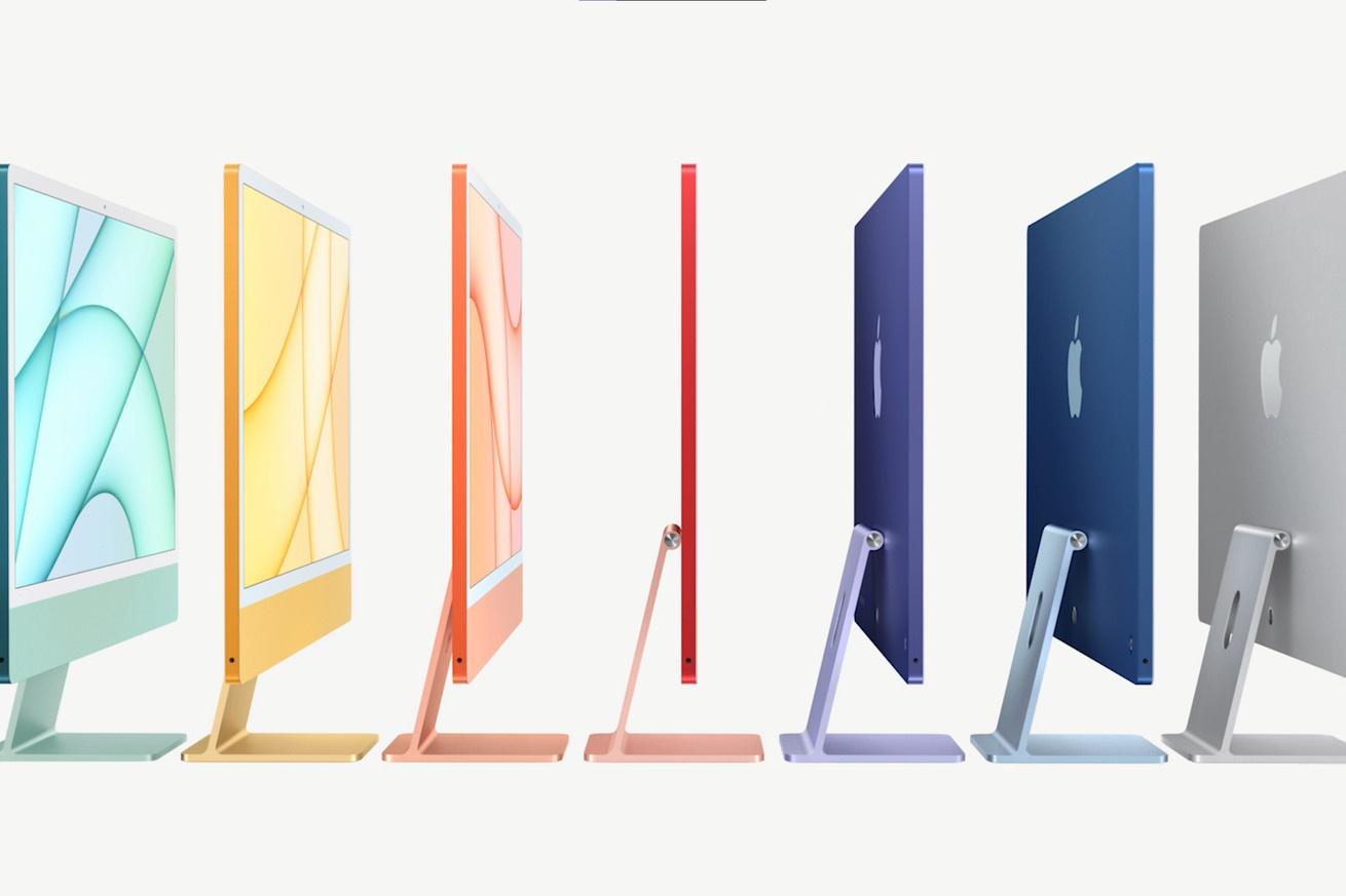 MacBook Air 2021 将采用类似新 iMac 的七彩色,M2 加持