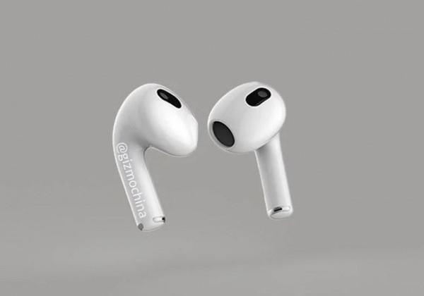 苹果 AirPods 3 或在未来几周内发布,搭载 U1 芯片耳机柄更小