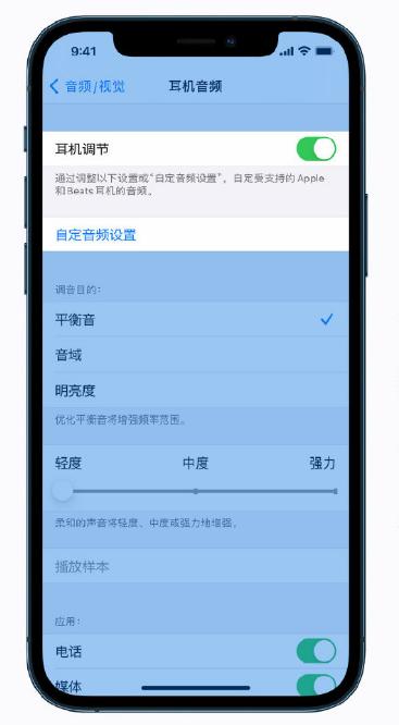 iPhone 12 小技巧:调整音频和视觉设置