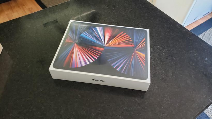 幸运用户已提前收到苹果新款 M1 iPad Pro