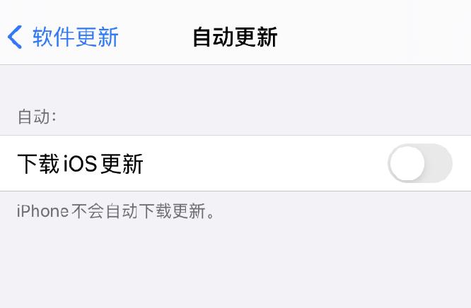 如何在 iPhone 12 上关闭自动更新?
