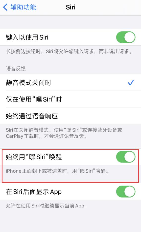 iPhone 屏幕被挡住时无法唤醒 Siri,如何解决?